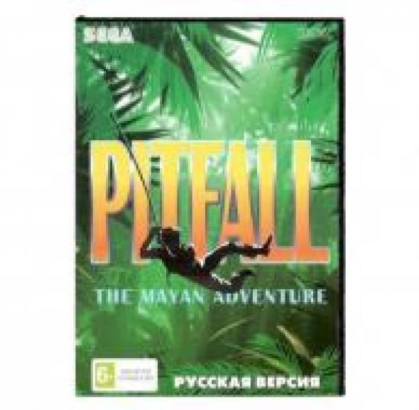 картридж (касcета) на SEGA (сега) pitfall the mayan adventure