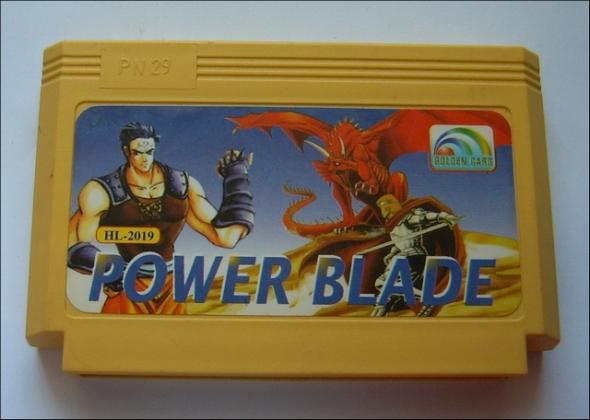 картридж (кассета) на Dendy (денди) Power Blade 1
