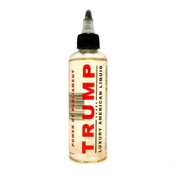 """Жидкость для Электронных сигарет """" Trump"""" Power of parliament 120 мл, никотин 3 мг"""