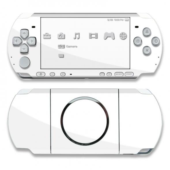 Игровая приставка  Sony PSP (Сони ПСП ) 3000 белая