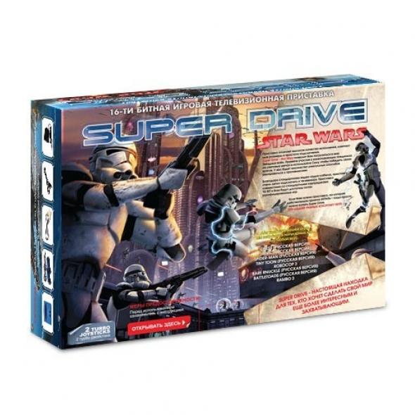 Игровая приставка sega super drive star wars