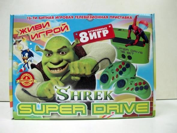Игровая приставка sega super drive shrek ( сега супер драйв шрек )
