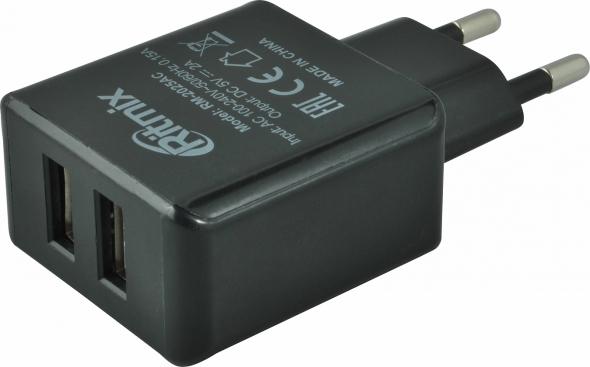 зарядное устройство Ritmix RM-2025 AC черный