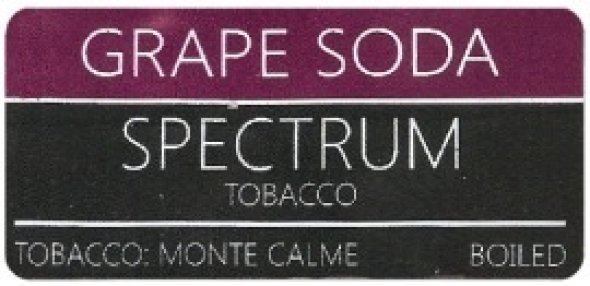 "Табак для кальяна "" Spectrum "" grape soda"