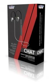 беспроводная гарнитура  SMARTBUY SBH-310 CHAT, белый/серый, Bluetooth