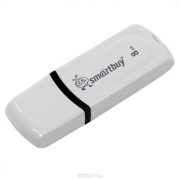 USB флэш-диск  8GB Smart Buy  Paean White