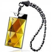 Флеш-накопитель USB 16 gb Silicon Power Touch 850 янтарь