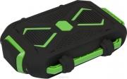 резервная батарейка power bank Ritmix RPB-10407 LST 10400 mAh черный / зеленый