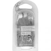 наушники  ritmix (ритмикс) rh-013 бело серые