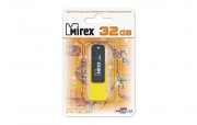 Флеш-накопитель USB  32GB  Mirex  CITY  жёлтый  (ecopack)