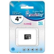 карта памяти Smartbuy SDHC  4 gb class 10 без адаптера