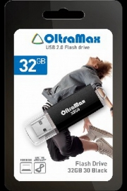 Флеш-накопитель USB  32GB  OltraMax   30  чёрный