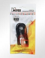 Кабель соединительный Mirex USB 2.0 AM-miniBM