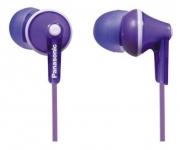 Наушники PANASONIC RP-HJE125E-V, фиолетовые.