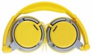Наушники SmartBuy (смартбай) TOUR, желто-серые