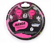 Наушники Smartbuy SBE-1020 Manga, пурпурные
