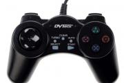джойстик для PC DVtech shock gear JS 19 черный, проводной