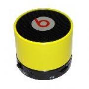 """беспроводная , портативная колонка """"Music"""" mini, Bluetooth Speaker желтая"""
