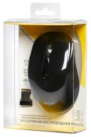 Мышь Smartbuy 502 черная, беспроводная, беззвучная