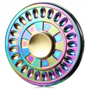спиннер металлический круглый
