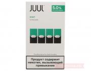 картриджи JUUL  Classic mint