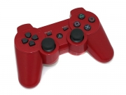 джойстик для Sony PLAYSTATION 3 (сони плейстейшн 3) DUALSHOCK 3  красный