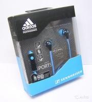 наушники Sennheiser (cенхайзер)CX260i Adidas ( адидас)  голубые