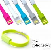 кабель iphone 5 браслет