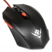 Мышь Nakatomi Gaming MOG-08U, черная, USB, проводная, игровая