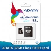 MicroSD 32GB A-Data  class 10 Premier c адаптером
