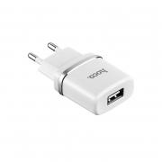 Блок питания сетевой 1 USB HOCO, C37A