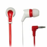 наушники  ritmix (ритмикс) rh-013 бело красные
