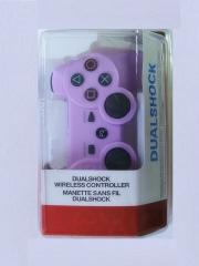 джойстик для Sony PLAYSTATION 3 (сони плейстейшн 3)  Dualshock 3 не оригинал фиолетовый