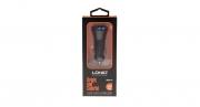 USB зарядник ldnio dual usb car charger 3.1 A черный