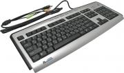 Клавиатура A4Tech KLS-23MU, PS/2, серебро