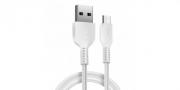 кабель usb - микро HOCO x20 белый