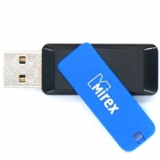Флеш-накопитель USB  32GB  Mirex  CITY  синий  (ecopack)