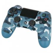 джойстик PS4 Dual Shock Wireless Camouflage Blue V2