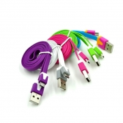 USB на  micro  цветная лапша
