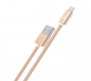 кабель usb -  8 HOCO x2 золотой