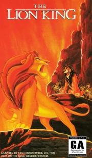 картридж (касcета) на SEGA (сега) Lion King