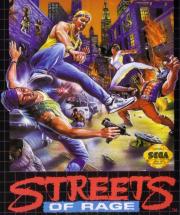 картридж (кассета) на SEGA (сега) Street of Rage (драки)
