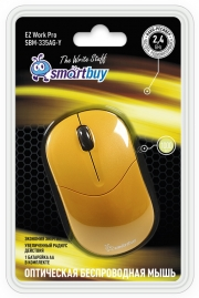Мышь Smartbuy 335 AG, желтая, беспроводная