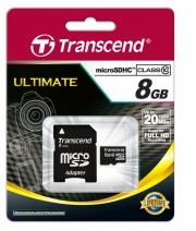 usb карта памяти Transcend  class 10, 8gb