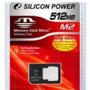карта памяти  Silicon power 512 mb