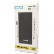 Резервная батарея ЗУ Oxion XN-1018, черный, 10000 Li-pol