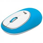 Мышь проводная RITMIX ROM-340 Antistress, синяя, USB.