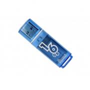 Флеш-накопитель USB  16GB  Smart Buy  Glossy  синий