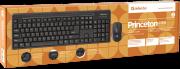 набор клавиатура + мышь DEFENDER Princeton C-935, черная, беспроводной.