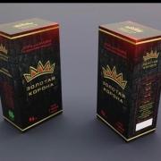 """Уголь для кальяна """" Золотая корона """" 72 шт."""